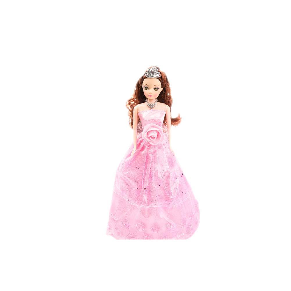 JingYuan Conversation Intelligente Poupée Télécommande Jouet Chant Danse Fonction Princesse Robe Doll Puzzle Jouets pour Fille 887 Type M Forfait A-Rose