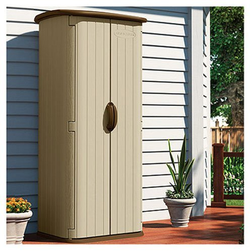 Duramax duramate 8x6 vinyl storage shed in the uae see for Garden shed uae