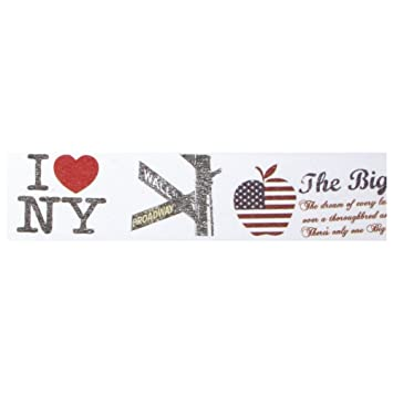 58833000 Washi Tape New York City, 30mm, Rolle 15m: Amazon.de: Küche ...