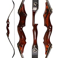 ISPORT 58 inch Takedown Recurve Bow Arch...