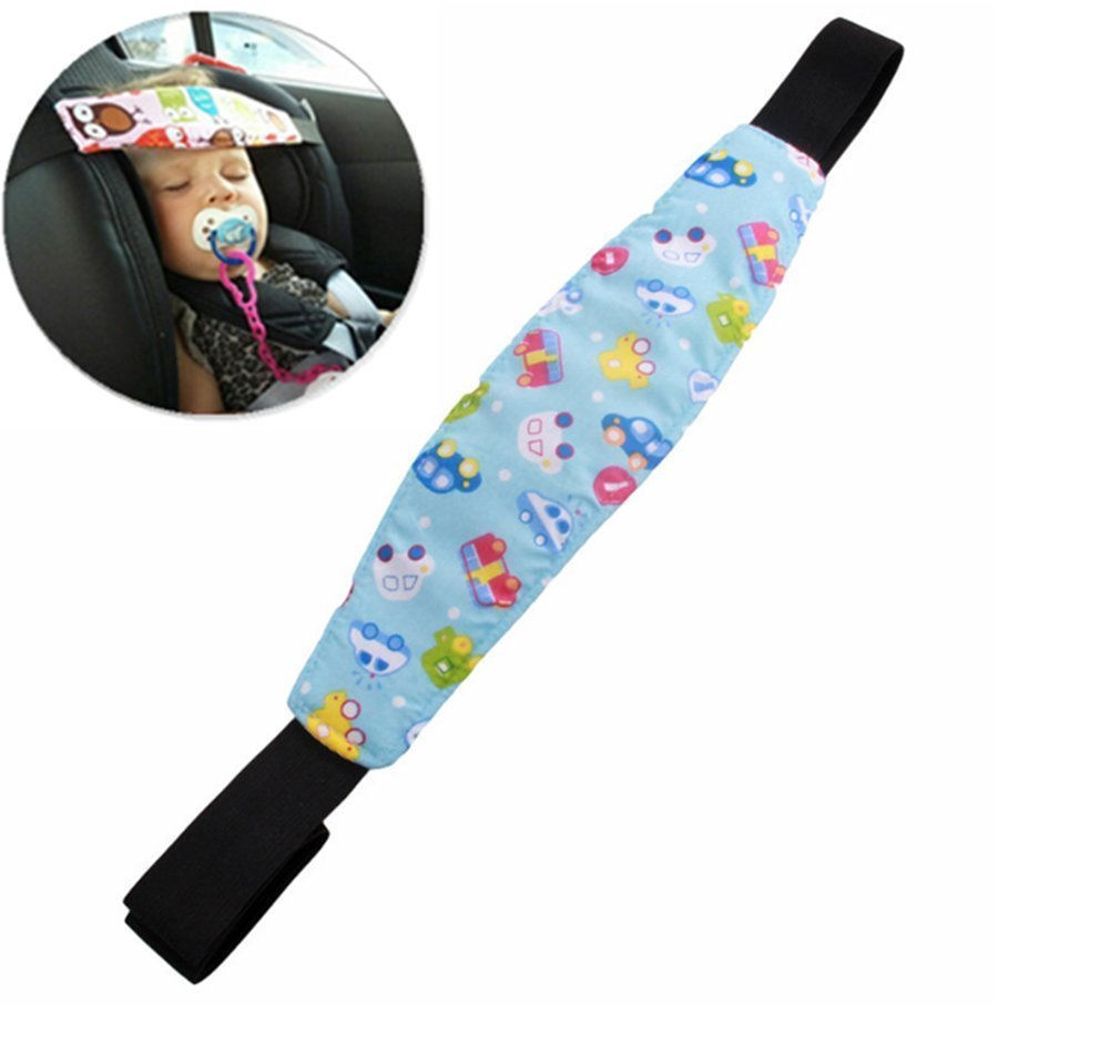 Protection de tê te pour bé bé , D & & R Coussin ré glable souple portable Coussin chauffant Support Amortisseur du corps et tê te pour voiture voyage Landau/Poussette 1 D&&R