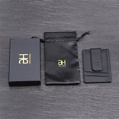 Gh Gold Horse Rfid Blocking Minimalist Wallet Genuine