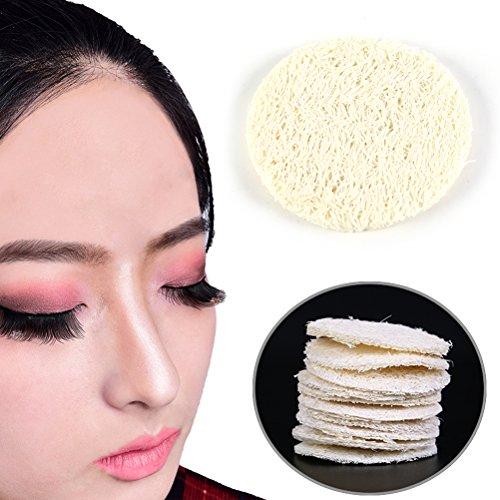 30 Pcs Loofah Luffa Facial Complexion Skin Disc Disk Pads Exfoliator Pads by - Loofah Face