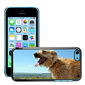 Super Stella Slim PC Hard Case Cover Skin Armor Shell Protection // M00105878 Dog Puppy Pet Animals Animal Bitch // Apple iPhone 5C