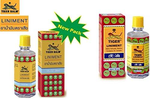 3 Pcs Tiger Balm Liniment 28ml (1 Oz) Original MassageThailand Product Free shipping
