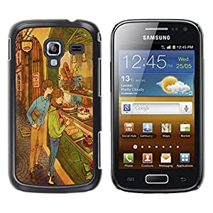 Dragon Case - FOR Samsung Galaxy Ace 2 - like nothing happened - Caja protectora de pl??stico duro de la cubierta Dise?¡Ào Slim Fit
