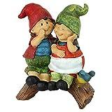 Garden Gnome Statue – Telling Secrets Gnomes – Lawn Gnome