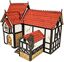 War World Gaming Medieval Town - Casa señorial (Pintada/Sin ...