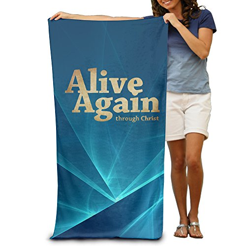 Alive Again Christian Jesus 31.5''*51'' Beach Towel by MFQO