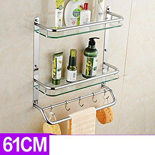 best Bathroom racks/Glass cosmetics/toilet/Bathroom rack /[Toilet accessories]-O