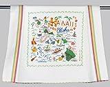 Catstudio | Hawaii Dish Cloth, Tea Towel or Decorative Hand Towel | Geography Collection | 20'' x 29''