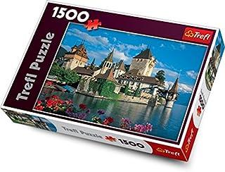 Trefl Oberhofen Castle, Switzerland 1500 Piece Jigsaw Puzzle (B005KNHH1M)   Amazon Products