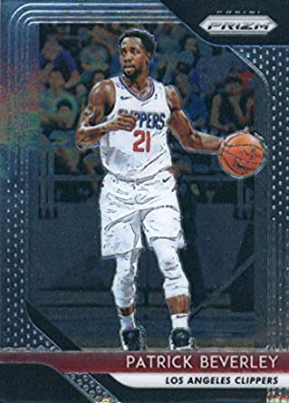 2018-19 Panini Prizm  204 Patrick Beverley Los Angeles Clippers Basketball  Card a81ea7c7d