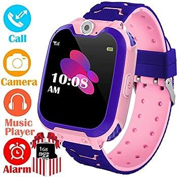 Amazon.com: Kids Smartwatch Children Phone Smart Watch Two ...