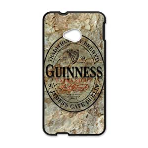 Guinness for HTC One M7 Cell Phone Case & Custom Phone Case Cover R24A651949