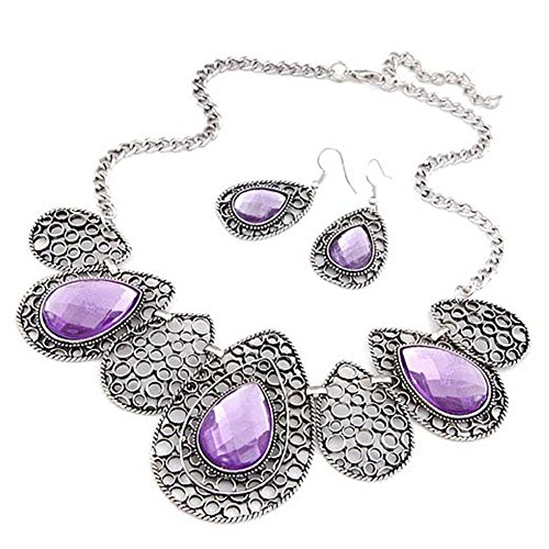 AnVei Nao Pattern Pendant Necklace Earring