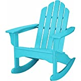 Hanover Outdoor Furniture HVLNR10AR All Weather Contoured Adirondack Rocking Chair, Aruba Review