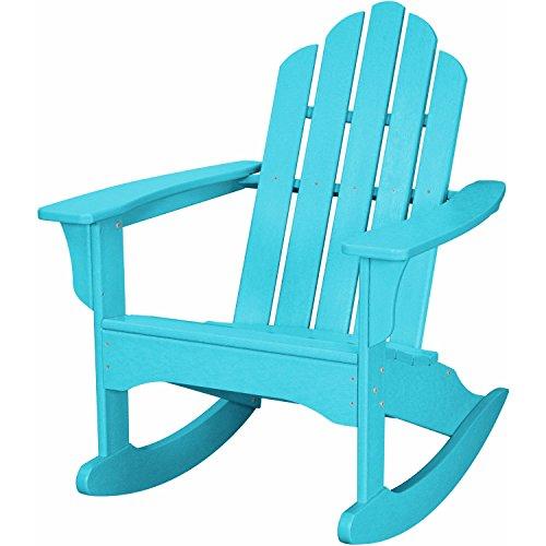 Hanover Adirondack Rocking Chair Aruba Blue HVLNR10AR