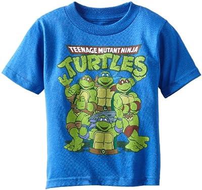 Teenage Mutant Ninja Turtles Boys' Group Tee