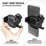 iOttie Easy One Touch 4 Air Vent Car Mount Holder Cradle for iPhone X 8/8 Plus 7 7 Plus 6s Plus 6s 6 SE Samsung Galaxy S8 Plus S8 Edge S7 S6 Note 8 5