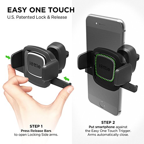iOttie-Easy-One-Touch-4-Air-Vent-Car-Mount-Holder-Cradle-for-iPhone-X-88-Plus-7-7-Plus-6s-Plus-6s-6-SE-Samsung-Galaxy-S8-Plus-S8-Edge-S7-S6-Note-8-5