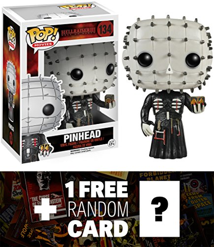 Pinhead: Funko POP! Movies x Hellraiser Vinyl Figure + 1 FRE