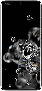 Samsung SM-G988BZKAXSA Galaxy S20 Ultra 5G 128GB Smartphone, Cosmic Black