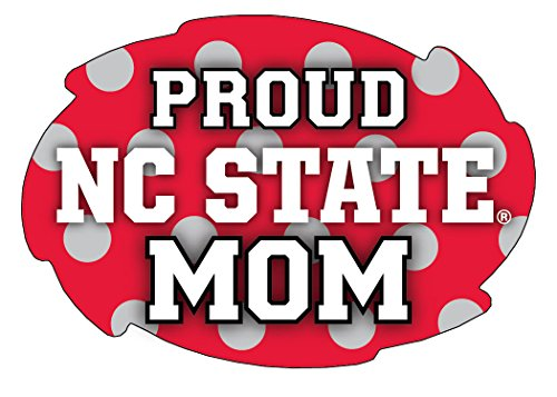 NC State Wolfpack Proud Mom Magnet Single