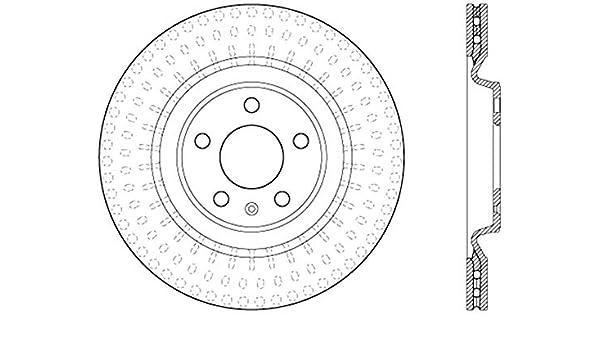 StopTech 125.33137 Premium Brake Rotor