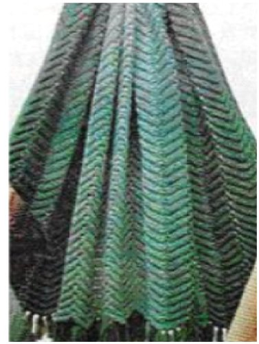 #0781 ZIG ZAG AFGHAN VINTAGE KNITTING PATTERN (Single (Zig Zag Knitting Pattern)