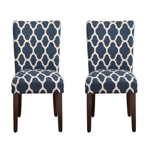 Beau HomePop Geo Brights Parson Chairs (Set Of 2)