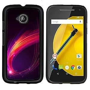 Caucho caso de Shell duro de la cubierta de accesorios de protección BY RAYDREAMMM - Motorola Moto E2 E2nd Gen - Abstracta genuino