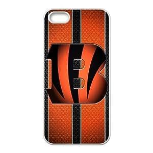 Cincinnati Bengals Team Logo iPhone 4 4s Cell Phone Case White 218y3-123134