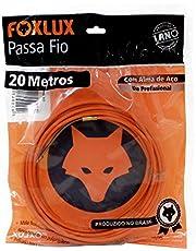 Passa Fio Alma de Aço Foxlux – 20 Metros – PP de alta resistência – Qualidade profissional – Indicado para instalações elétricas