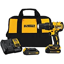 DEWALT DCD777C2 20V Max Lithium-Ion Brushless Compact Drill Driver