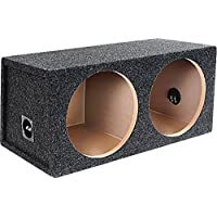 Atrend 12DS 12 Dual Hatchback Style Small Sealed Subwoofer Enclosure
