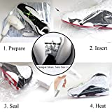 Shoe Shrink Wrap Bags, 100 Pcs - 50 Pairs of
