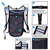 Neboic 2Pack Hydration Backpack Pack with 2L