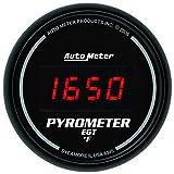 Auto Meter 6345 Digital Pyrometer Gauge,2.3125 in.