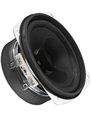 MONACOR SP-30 Universele luidspreker, 5W, 4 Ohm, Tweeter conus, rond, 78 mm Zwart