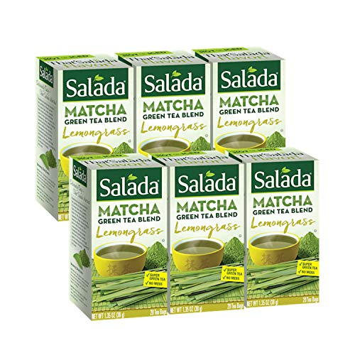 Salada Lemongrass Matcha Green