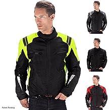 Viking Cycle Ironborn Motorcycle Textile Jacket (Green-L)