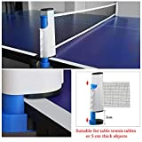 Fostoy Ping Pong Nets, Table Tennis Nets Adjustable