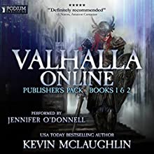 Valhalla Online: Publisher's Pack, Books 1 & 2 Audiobook by Kevin O. McLaughlin Narrated by Jennifer O'Donnell