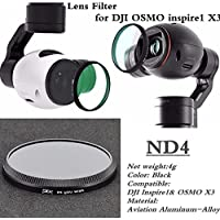 XSD MODEL PGY HD ND4 Lens Filters Gimbal Accessories for DJI OSMO inspire1 X3 Drone parts