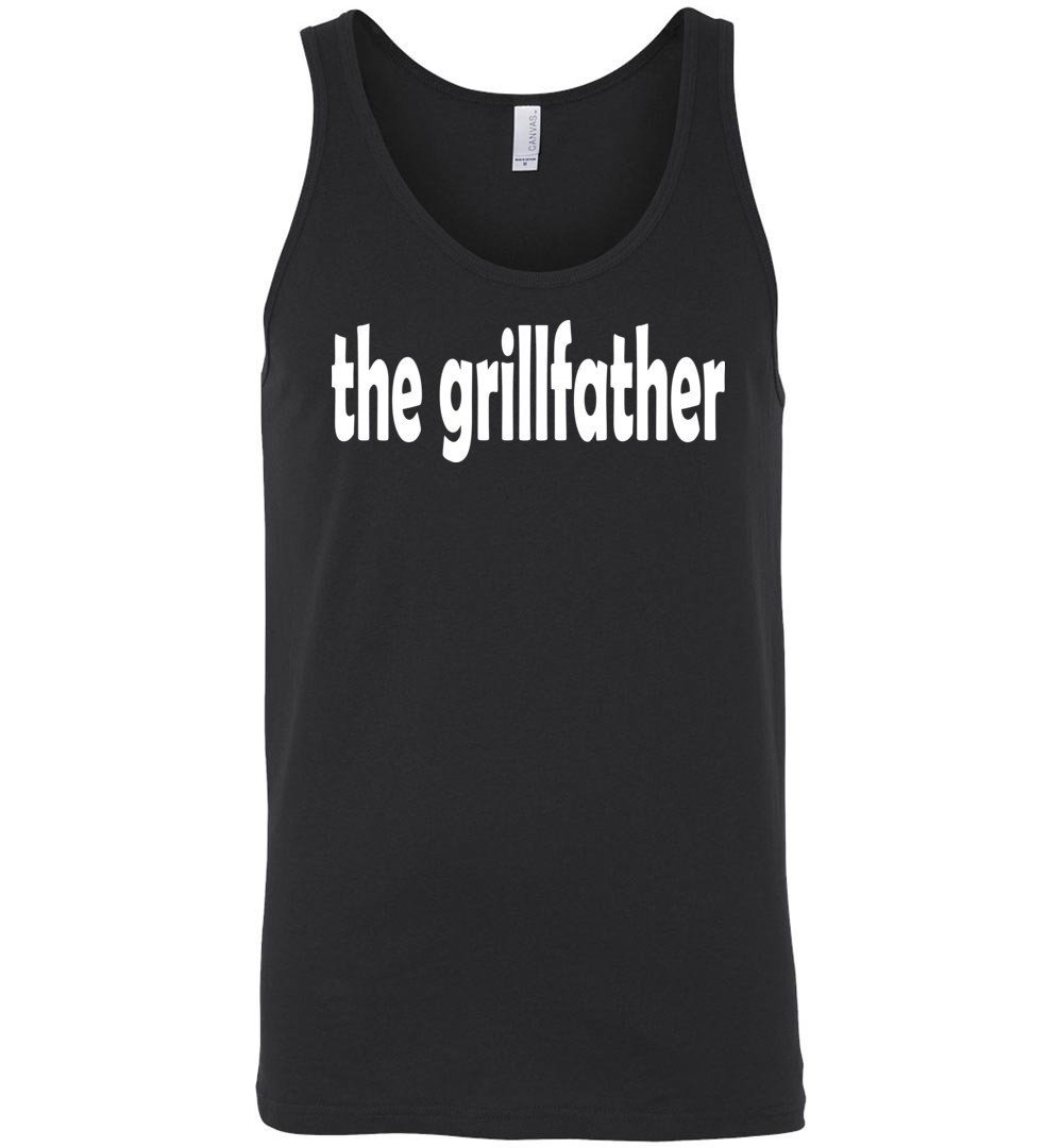 The Grillfather Barbeque And Grilling Unisex Tank Shirts