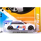 2012 Hot Wheels Custom Real Riders BMW M3 GT2 White
