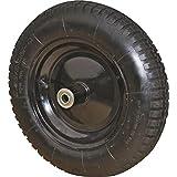 "Rocky Mountain Goods Wheelbarrow Wheel 16"" Air Filled - For 6 & 8 cubic ft. wheelbarrow wheels including Jackson, True Temper"