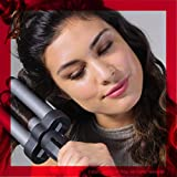 Revlon Three-Barrel Ceramic Jumbo Waver, An