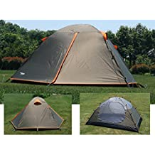 Luxe Tempo Backpacking 2 Person Tents for Camping with Rainfly 3-4 season 2 Doors 2 Vestibules